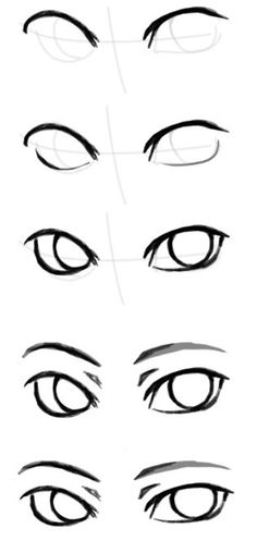 Male Eyes Drawing