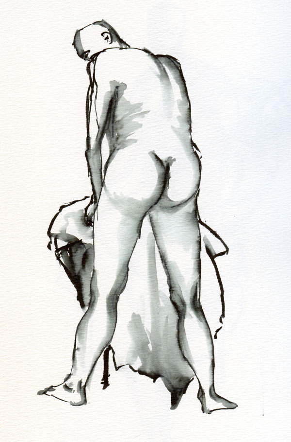 Male Figure Drawing Model Poses