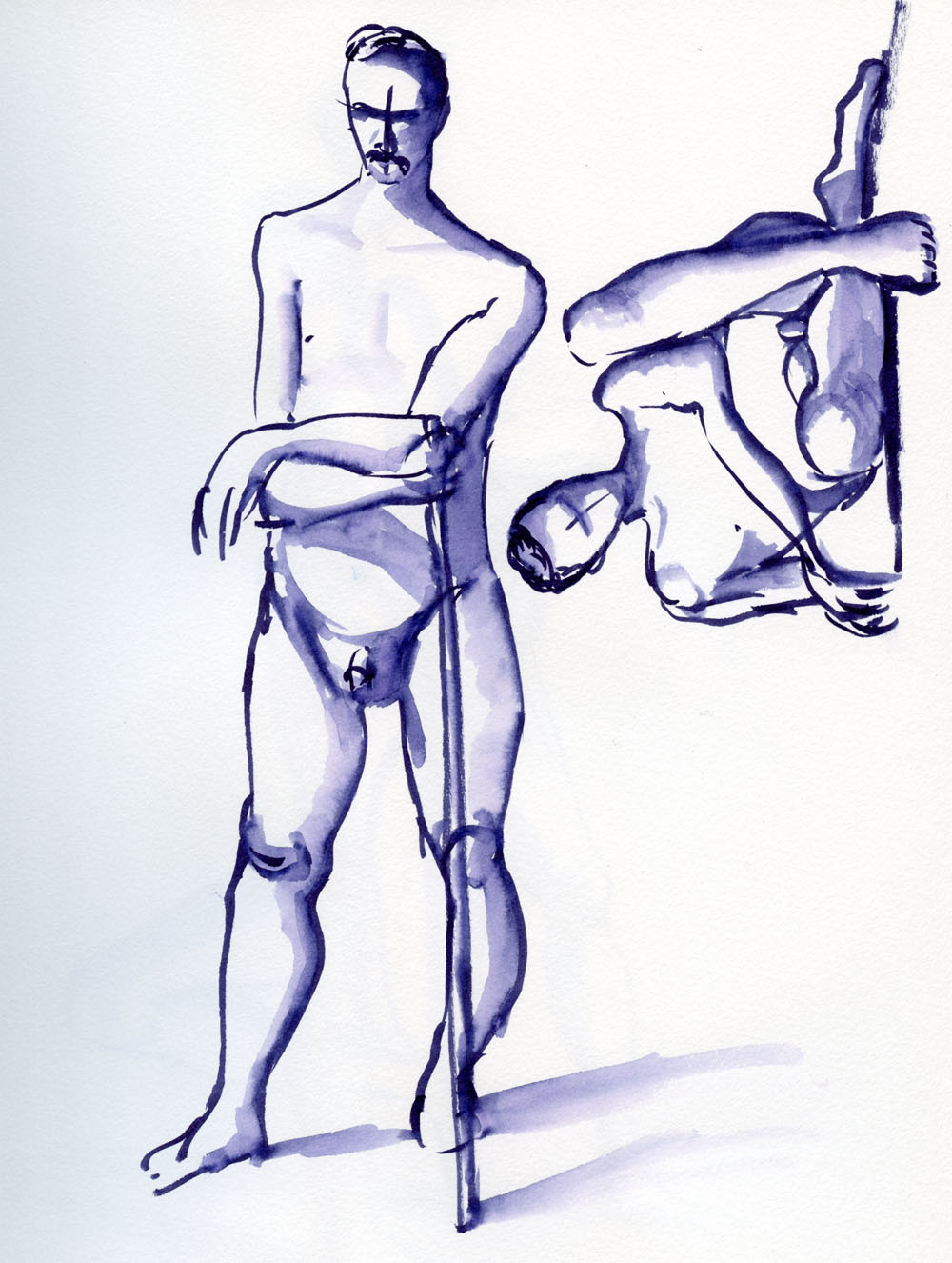 Male Figure Drawing Poses | Free download on ClipArtMag