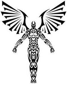 236x314 best angel tribal tattoos images tribal tattoos, tribal