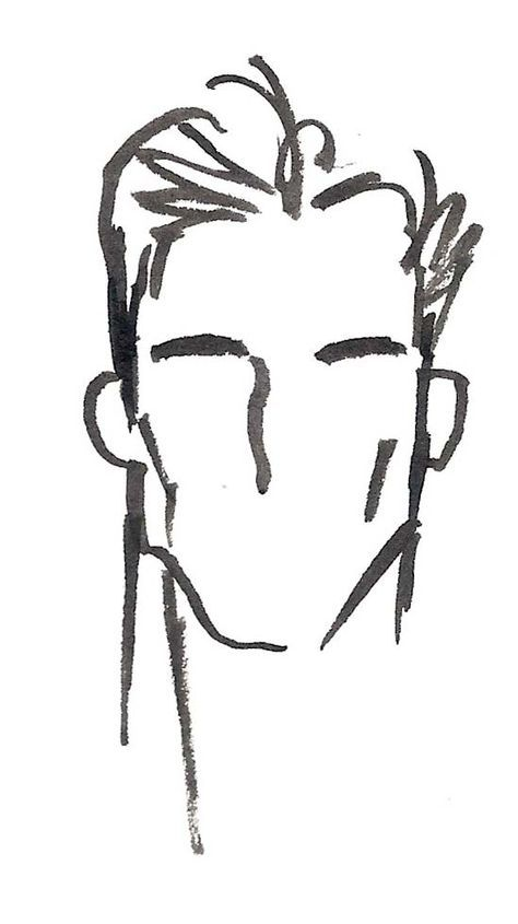 474x845 i have a fondness for a strong male face in strong ink line