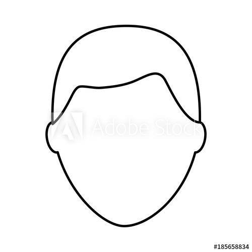500x500 Default Male Avatar Man Profile Picture Icon Vector Illustration