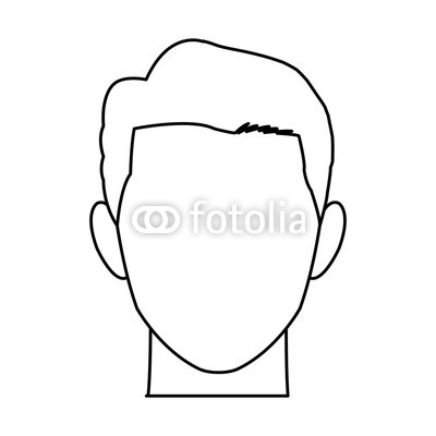 400x400 Male Avatar Profile Picture Image Vector Illustration Buy Photos