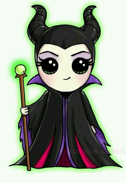 437x632 maleficent girls kawaii drawings, kawaii disney, kawaii girl