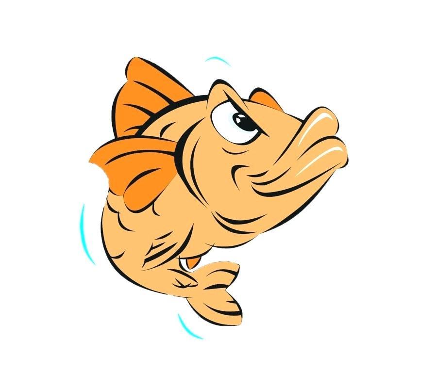 900x800 Drawings Of Cartoon Fish