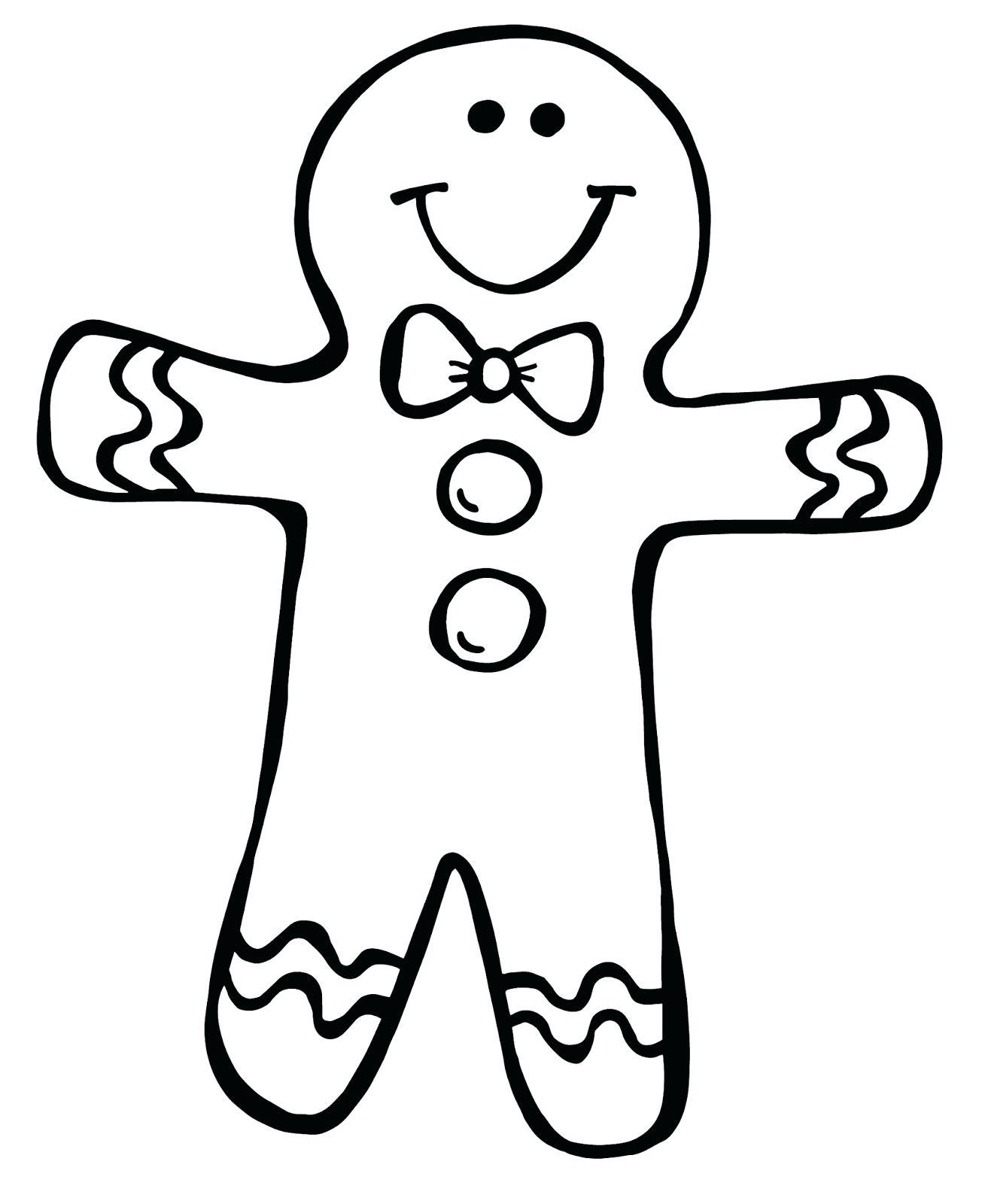 1313x1600 Gingerbread Man Outline Clipart Gingerbread Man Men Outlines Clip