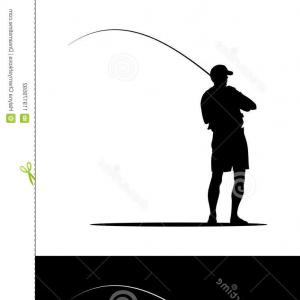 300x300 fisherman vector silhouette fisherman vector silhouette man