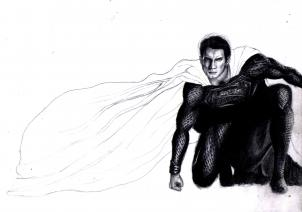 302x212 how to draw the man of steel, man of steel, step