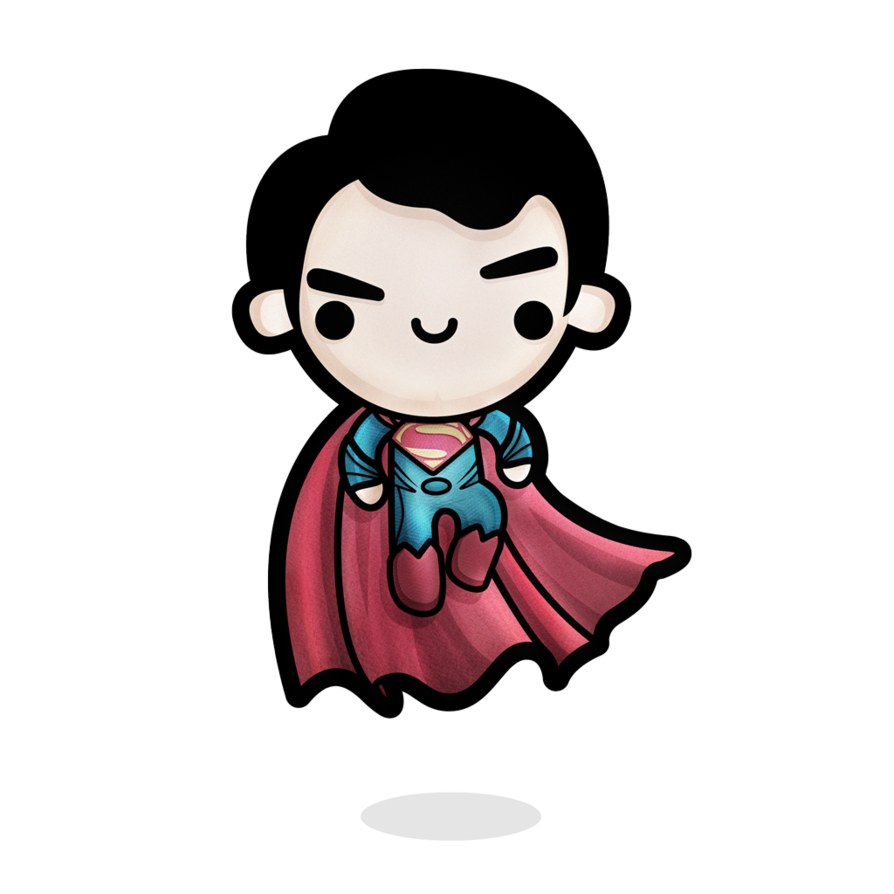894x894 Collection Of Free Superman Drawing Kawaii Download On Ui Ex