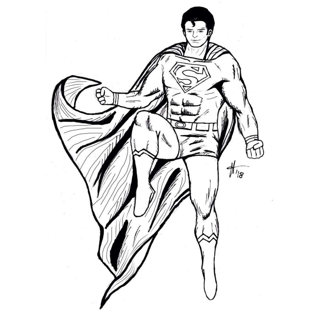 1024x1024 Superman Drawing! Dc Universe Amino