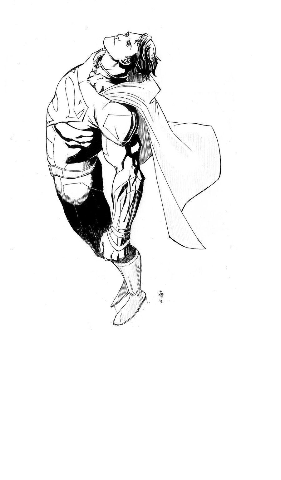 900x1538 Superman Sketch