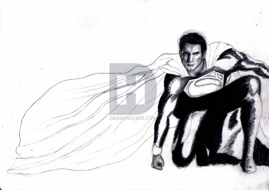 1021x720 how to draw the man of steel, man of steel, step