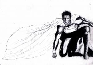 302x213 How To Draw The Man Of Steel, Man Of Steel, Step