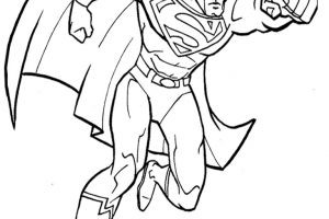 300x200 Man Of Steel Logo Coloring Pages Logodesignfx