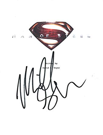 339x445 Michael Shannon Signed Autographed Superman Man Of Steel Movie