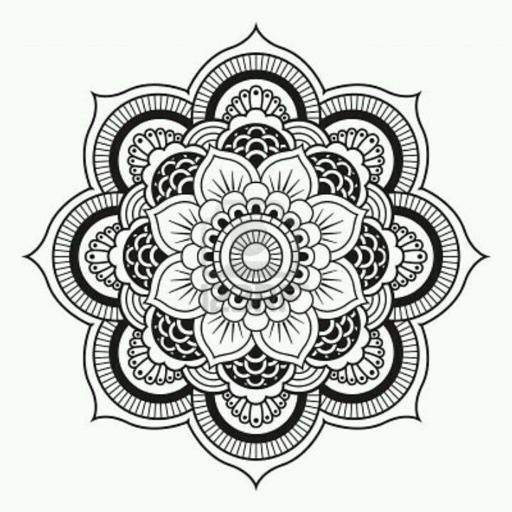 720x720 mandala flower things i love mandala tattoo, mandala tattoo