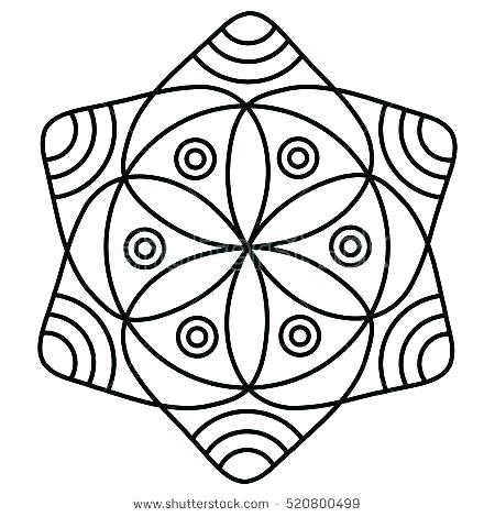 450x470 mandala coloring pages easy mandala coloring pages easy mandala
