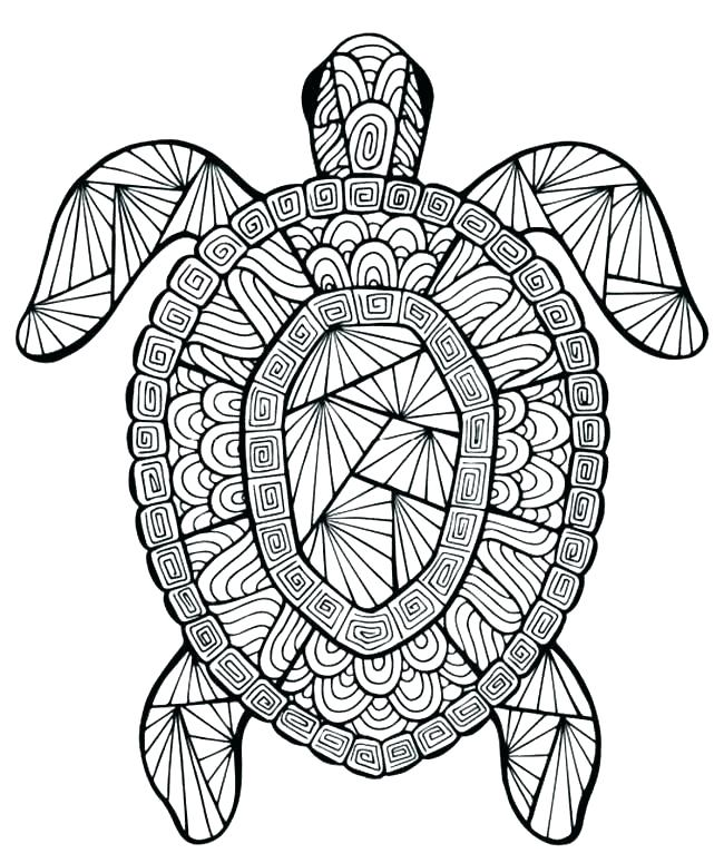 Mandala Drawing Animals Free Download Best Mandala