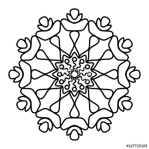 Mandala Flower Designs Flowers Healthy