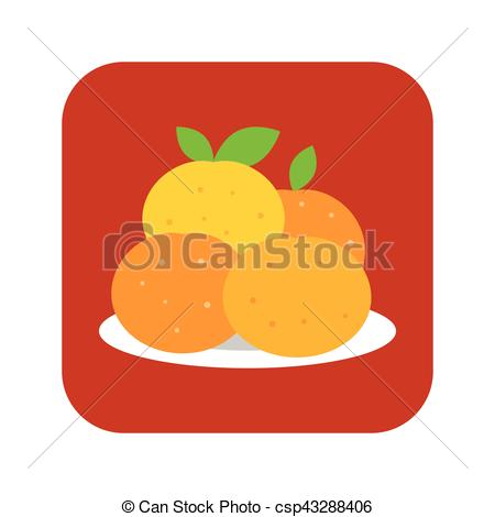 450x470 Collection Of 'mandarin Orange Drawing' Download More Than