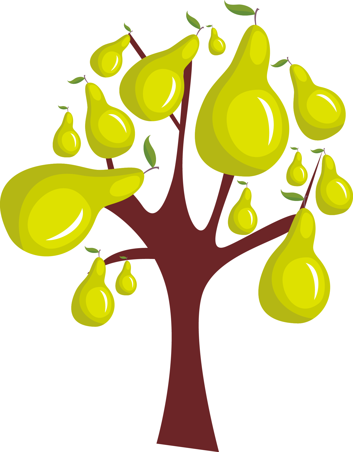 Mango Tree Drawing | Free download on ClipArtMag