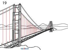 Manhattan Bridge Drawing