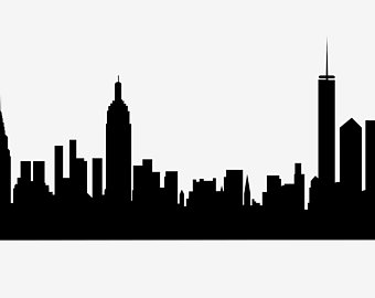 340x270 Huge Collection Of 'silhouette Nyc Skyline' Download More Than