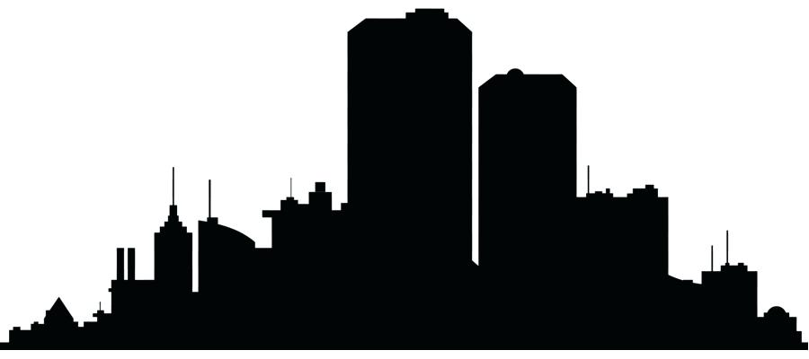 900x400 nyc skyline silhouette new city skyline silhouette clip art city
