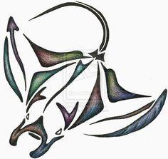 Manta Ray Drawing