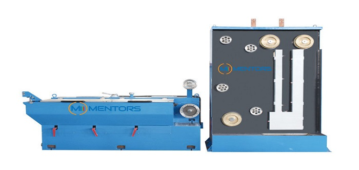700x331 intermediate wire drawing machine with online annealing wire