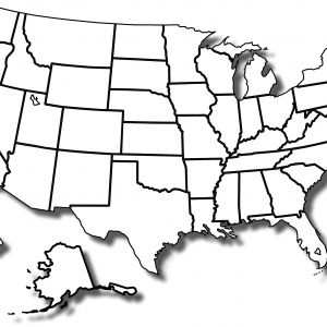 300x300 how to draw a us map outline conus beautiful how to draw a us map