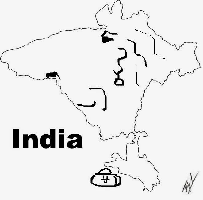 662x655 funny maps a funny map of india funny maps of asia india map
