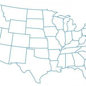 Map Of Us Drawing   Free download best Map Of Us Drawing on ...