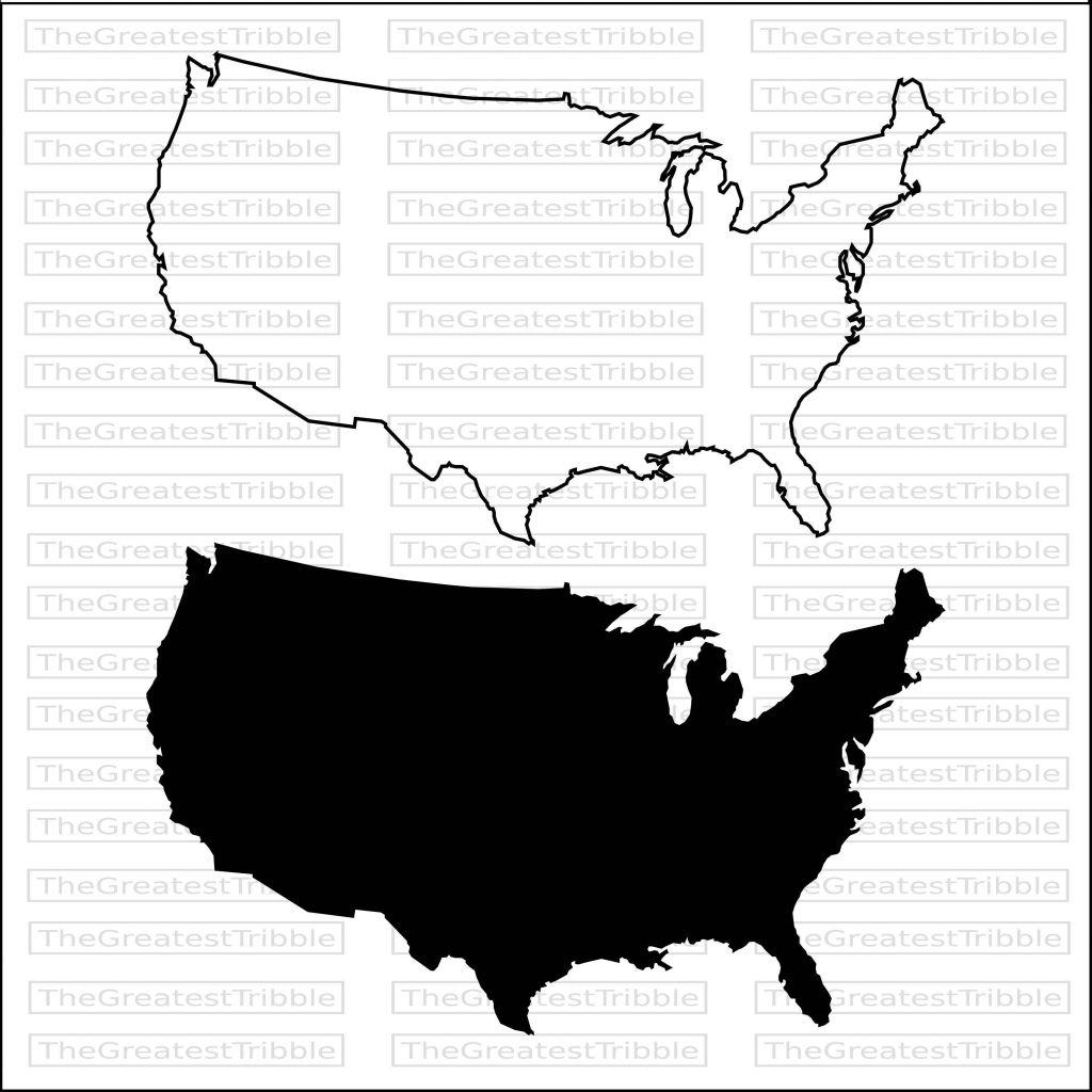 1024x1024 us map outline fresh clip art united states map fresh