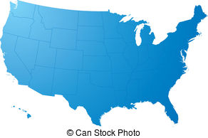 292x194 us map clipart and stock illustrations us map vector