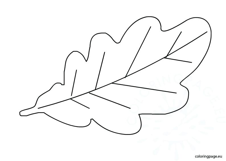 It's just an image of Printable Leaf Stencils intended for coloring page