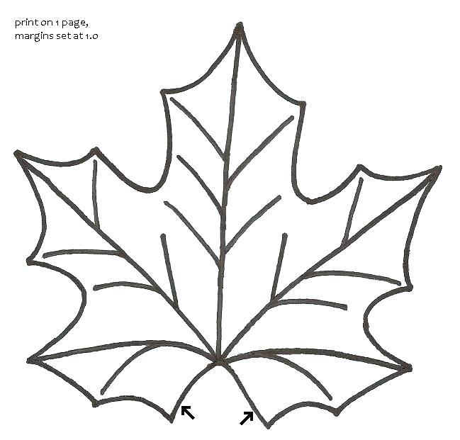 649x621 Small Leaf Template Printable Free Jungle C Array Leafy Templates