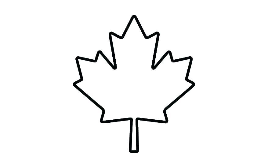 878x549 Maple Leaf Printable