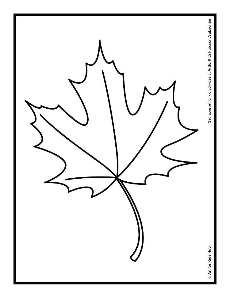 750x971 fall leaf fall leaf fall leaf template small