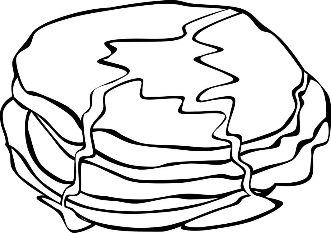 1064x750 Pancakes Vector Syrup Drawing Transparent Png Clipart Free