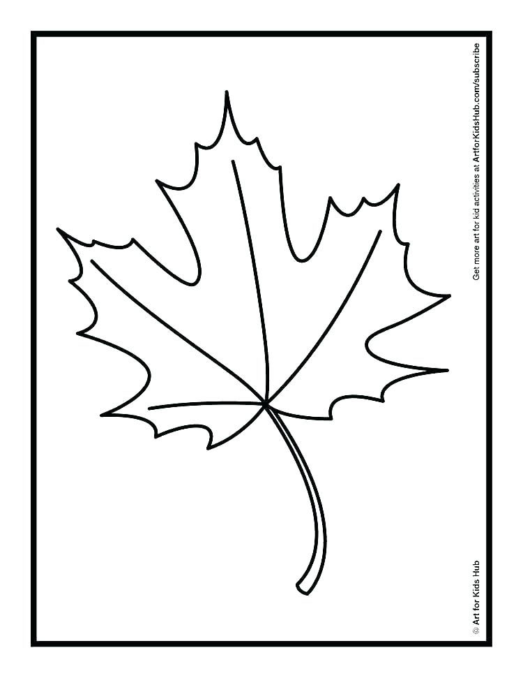 750x971 Red Maple Tree Coloring