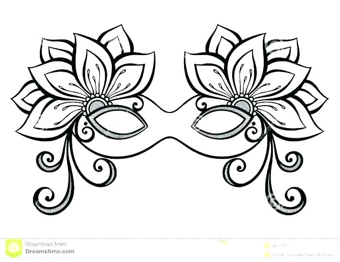 This is a graphic of Magic Mardi Gras Coloring Pages Free Printable