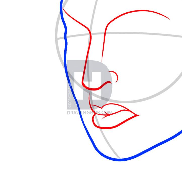 724x720 how to draw a mardi gras mask, mardi gras mask, step