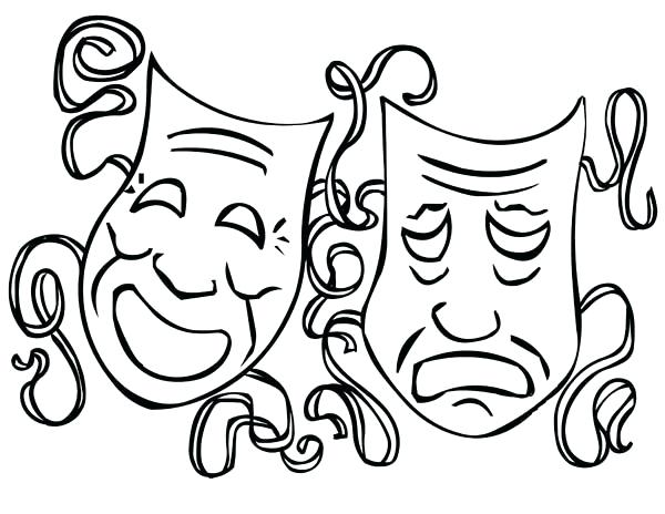 600x464 mardi gras coloring pages to print color it mardi gras mask