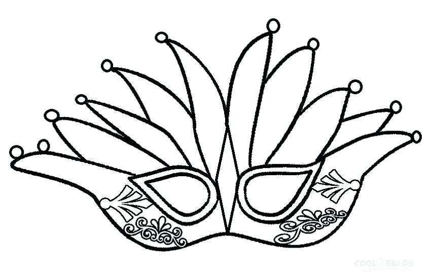 850x551 mardi gras mask printable coloring pages awesome mardi gras