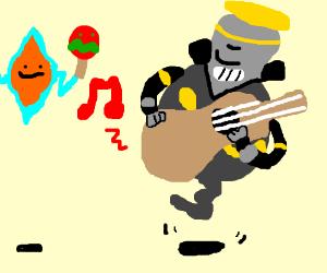 300x250 Rotom And Dusknoir Play In A Mariachi Band