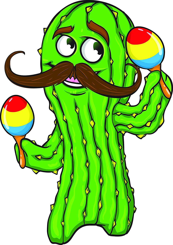 1061x1500 Dancing Cactus With Mustache Maracas Music Mariachi