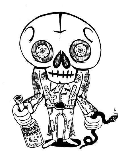 450x554 mescal viper mariachi skull pretty pretty skull art, skull