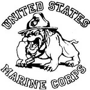 300x300 Marine Corps Emblem Coloring