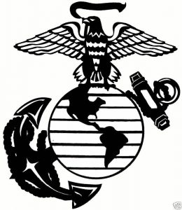 photograph regarding Printable Marine Corps Emblem called Maritime Corps Brand Drawing No cost obtain least difficult Maritime Corps